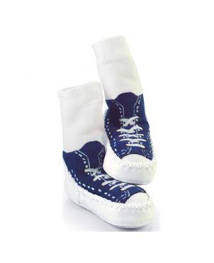 Calcetín – zapato Mocc Ons - Sneakers azul marino 12 a 18 meses