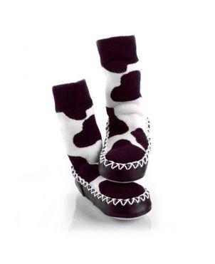 Calcetín – zapato Mocc Ons - Vaca 6 a 12 meses