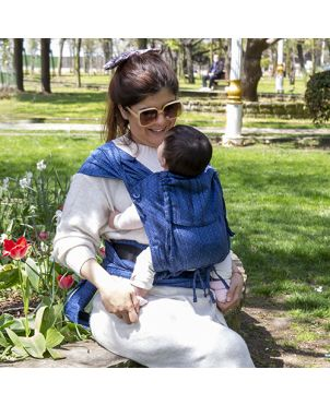 Meichila Huggyberry Baby - Diamond zafiro