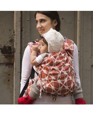 Mochila Huggyberry toddler - Marble terra