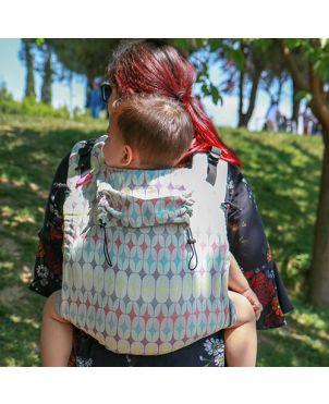 Onbuhimo Sad Neko Slings toddler - Retro
