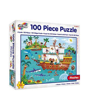 Puzle piratas 100 piezas