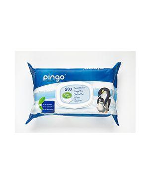 Toallitas húmedas ecológicas desechables Pingo