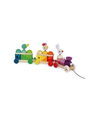 Tren gigante multicolor JANOD