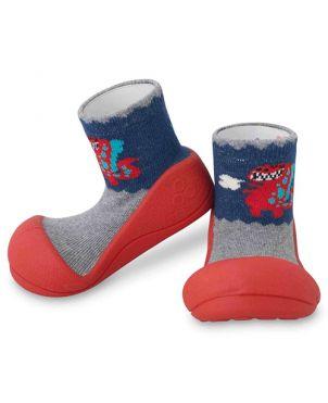 Zapato Attipas - Dinosaur red L